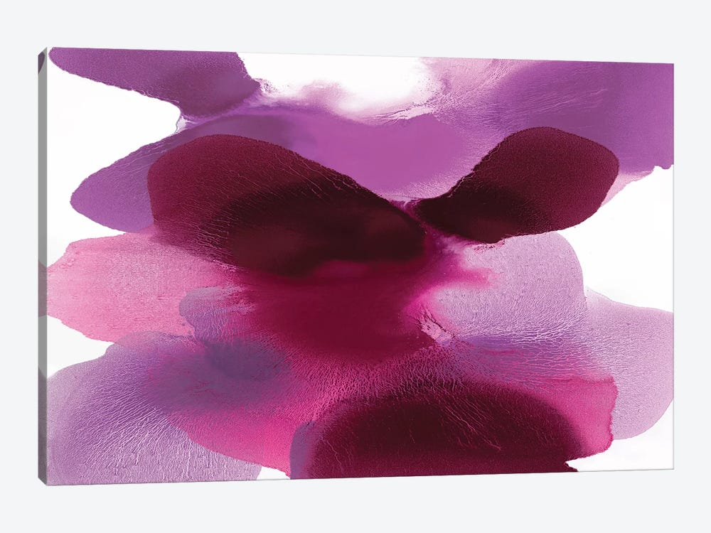 Magenta Drift by Hannah Carlson 1-piece Canvas Art Print