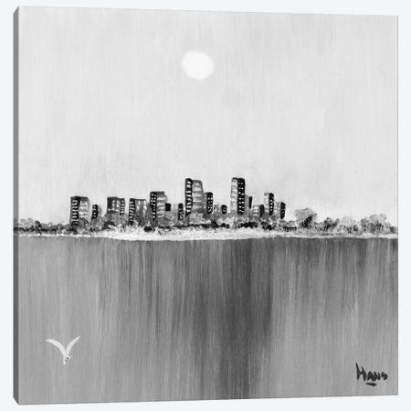 New York Skyline II Canvas Print #HDB1} by Hans de Bruijn Canvas Wall Art
