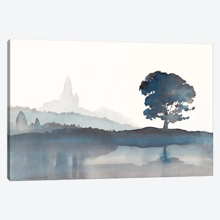 Serene Silhouette II Canvas Print #HDL10} by Theresa Heidel Canvas Art