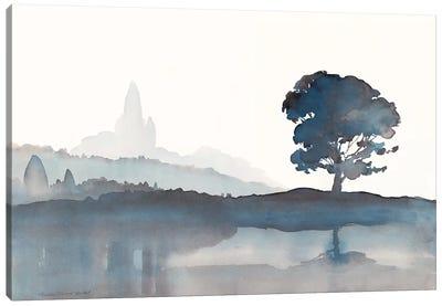 Serene Silhouette II Canvas Art Print