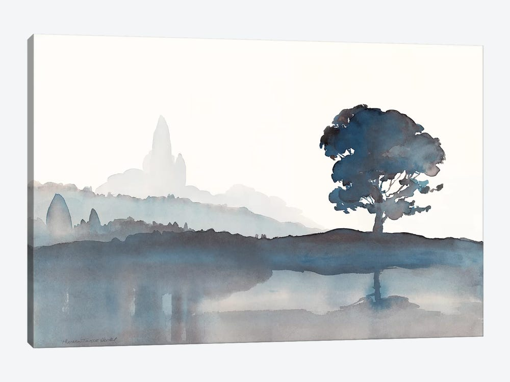 Serene Silhouette II by Theresa Heidel 1-piece Art Print