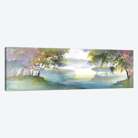 Meandering Lake I Canvas Print #HDL11} by Theresa Heidel Canvas Artwork