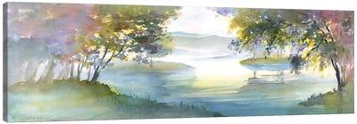 Meandering Lake I Canvas Art Print