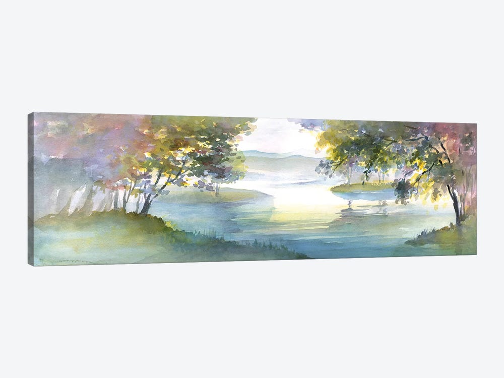 Meandering Lake I by Theresa Heidel 1-piece Canvas Art