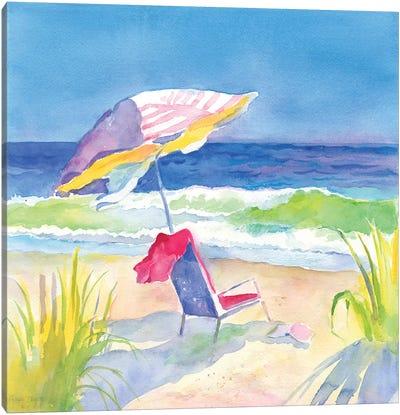 Beach Bliss I Canvas Art Print