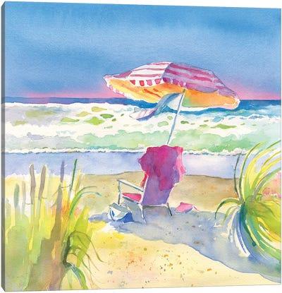 Beach Bliss II Canvas Art Print