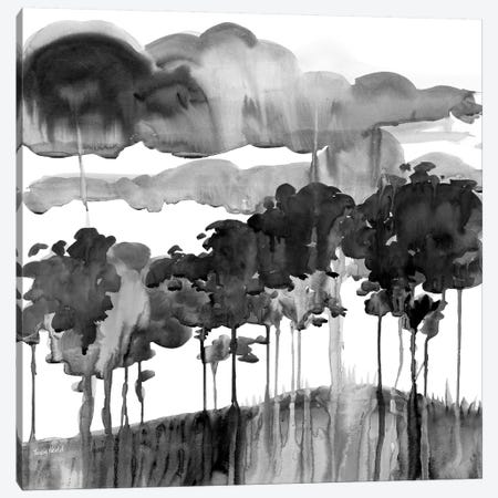 Cerulean Sky Canvas Print #HDL1} by Theresa Heidel Canvas Artwork