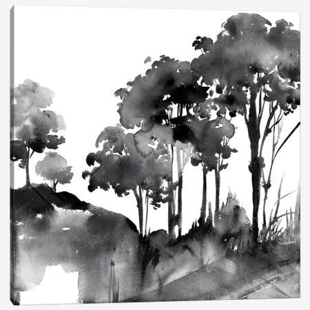 Cobalt Savannah Canvas Print #HDL2} by Theresa Heidel Canvas Artwork