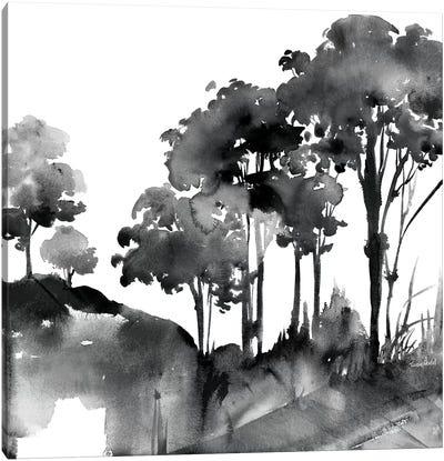 Cobalt Savannah Canvas Art Print