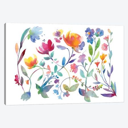 Sweet Emotions I Canvas Print #HDL4} by Theresa Heidel Canvas Art Print