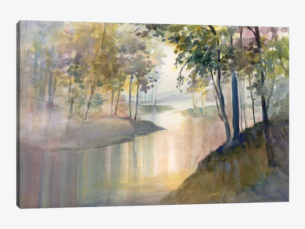 Reflections & Memories by Theresa Heidel 1-piece Canvas Artwork
