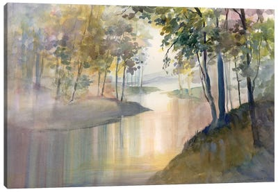 Reflections & Memories Canvas Art Print