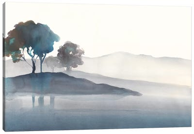 Serene Silhouette I Canvas Art Print