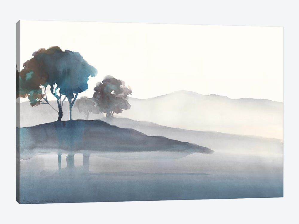 Serene Silhouette I by Theresa Heidel 1-piece Canvas Artwork
