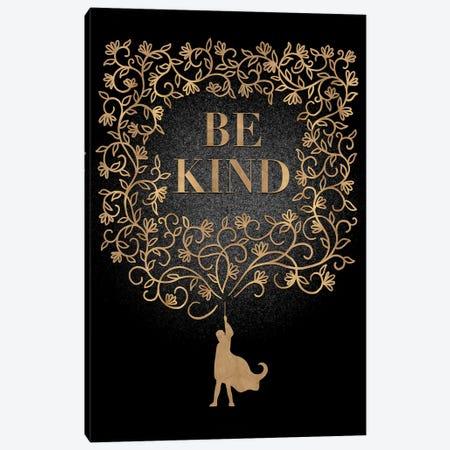 Be Kind Canvas Print #HDN10} by Holly Dunn Canvas Art