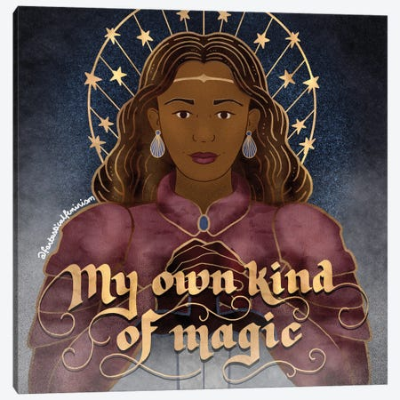 My Own Kind Of Magic Canvas Print #HDN38} by Holly Dunn Canvas Art