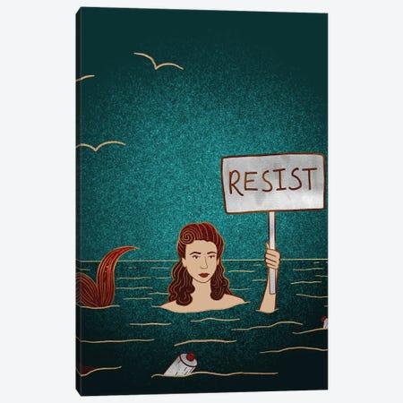 Resist II Canvas Print #HDN52} by Holly Dunn Canvas Artwork