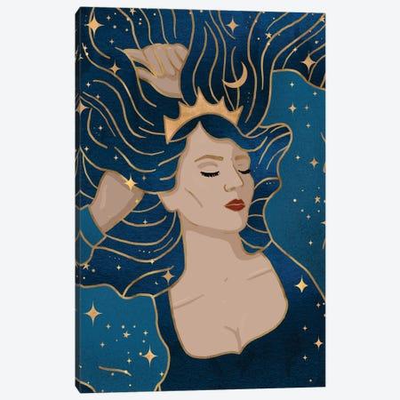 Sleeping Beauty Canvas Print #HDN58} by Holly Dunn Canvas Artwork
