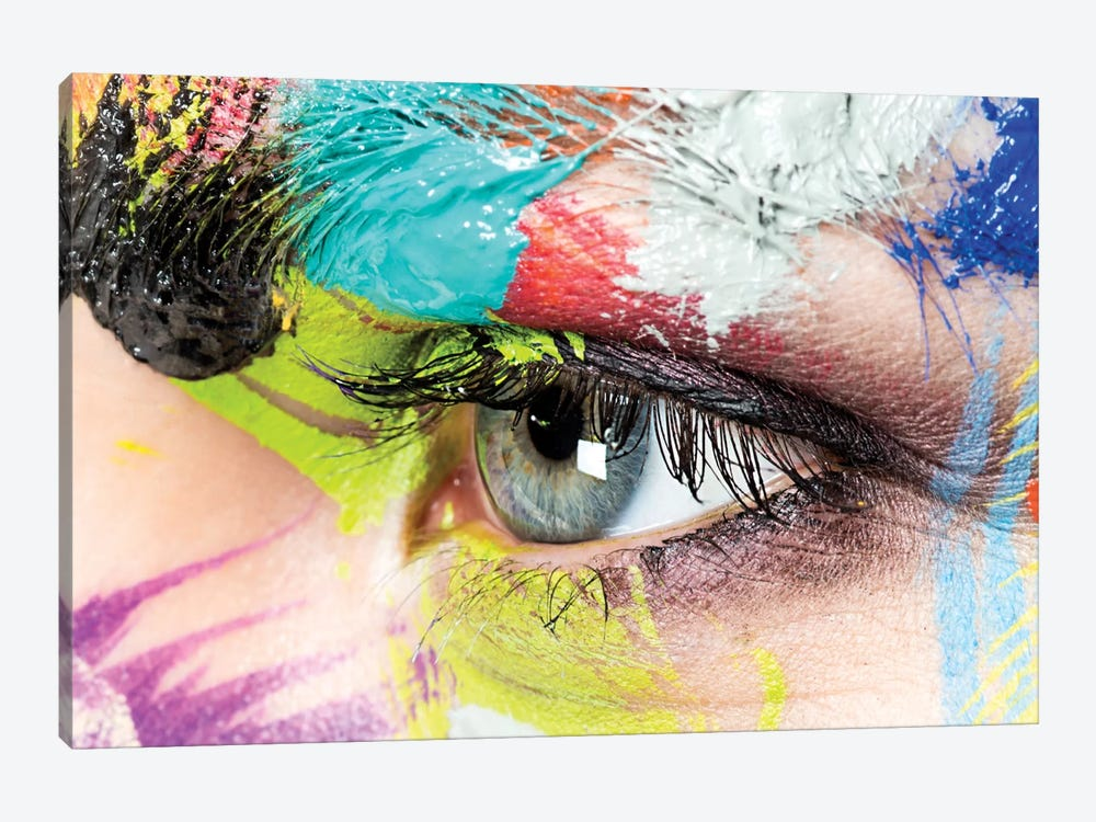 Roberta's Left Eye by Herve Dunoyer 1-piece Canvas Artwork