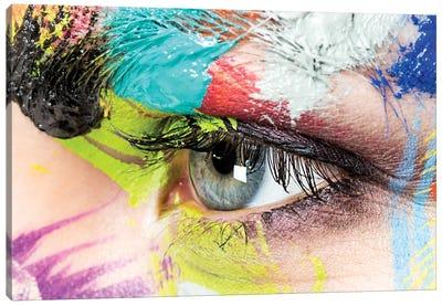 Roberta's Left Eye Canvas Art Print