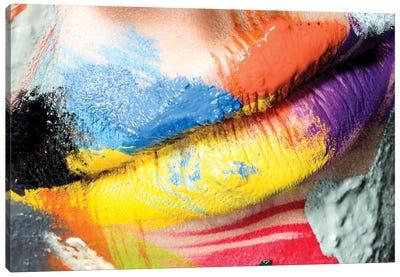 Roberta's Lips Canvas Art Print