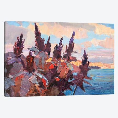 Autumn Flowers Canvas Print #HDV1} by CountessArt Canvas Print