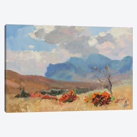 Autumn Koktebel Canvas Print #HDV2} by CountessArt Canvas Print