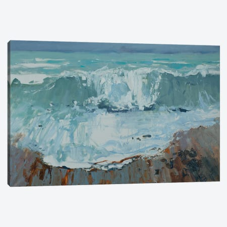 I See The Sea Canvas Print #HDV34} by CountessArt Canvas Art Print