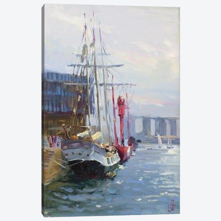 Le Havre Grand Regatta France Canvas Print #HDV39} by CountessArt Canvas Art