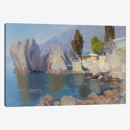 Morning Chekhov Summer House Canvas Print #HDV43} by CountessArt Art Print
