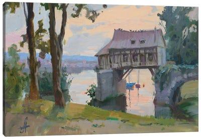 Old Mill Vernon France Canvas Art Print