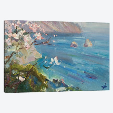 Spring Adalars Cardboard Canvas Print #HDV62} by CountessArt Art Print