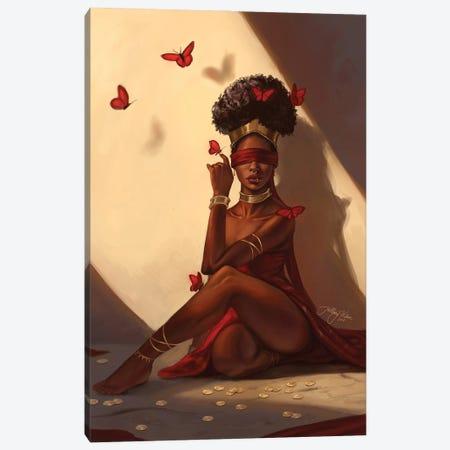 The Oracle Canvas Print #HDW12} by Hillary D Wilson Art Print