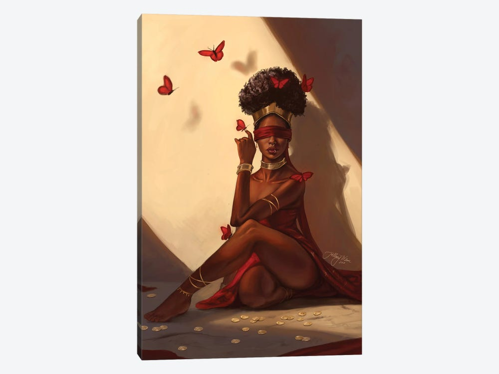 The Oracle by Hillary D Wilson 1-piece Art Print