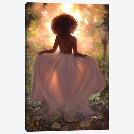 Mother Nature Canvas Print #HDW14} by Hillary D Wilson Canvas Art