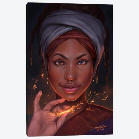 Spark Canvas Print #HDW17} by Hillary D Wilson Canvas Art