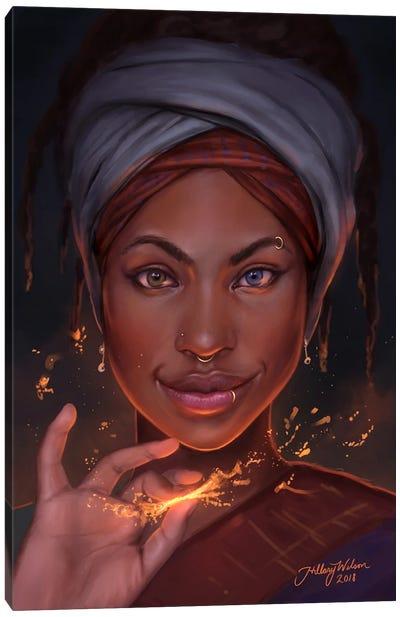 Spark Canvas Art Print