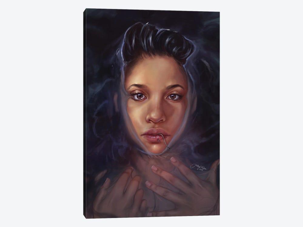 Ocean Spirit by Hillary D Wilson 1-piece Canvas Artwork