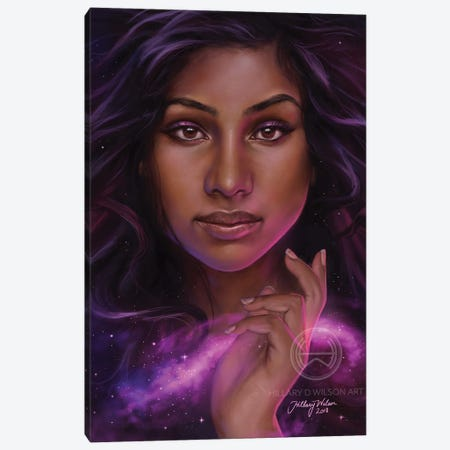 Galaxy Canvas Print #HDW25} by Hillary D Wilson Canvas Print