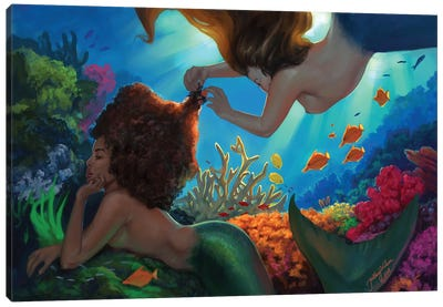 Mermaids Canvas Art Print