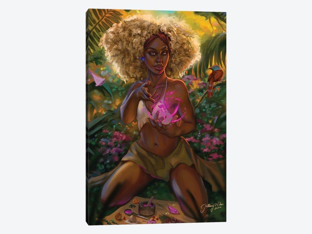 Spell Caster by Hillary D Wilson 1-piece Canvas Art