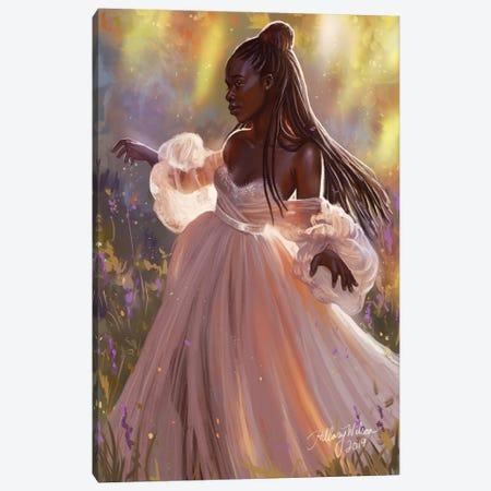 Princess Canvas Print #HDW31} by Hillary D Wilson Canvas Print