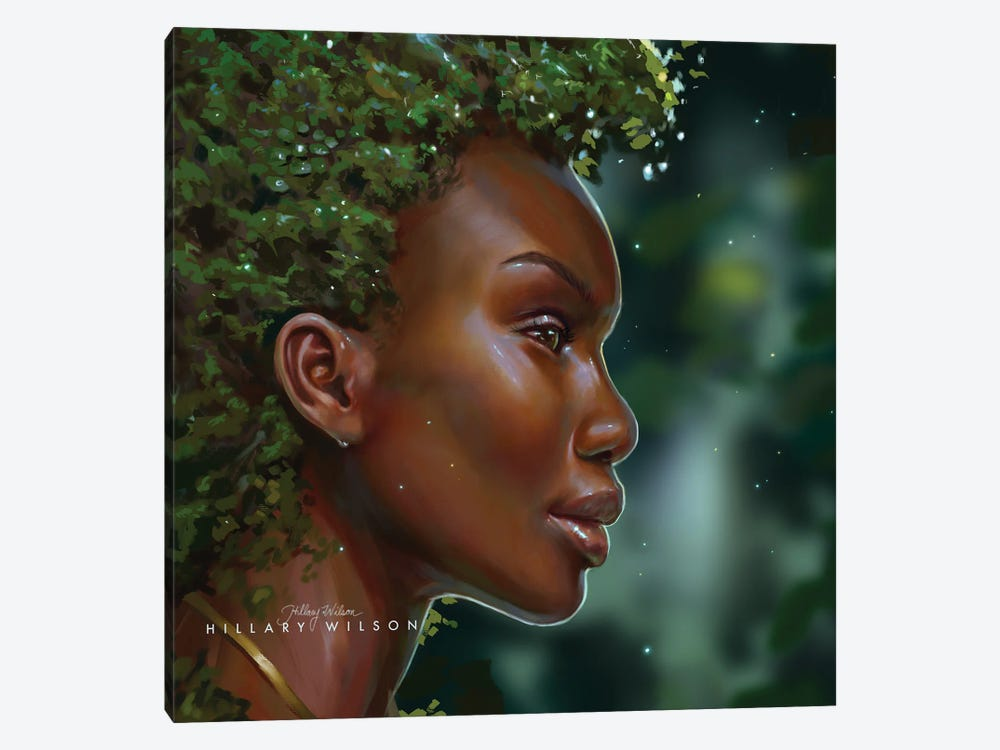 Dryad by Hillary D Wilson 1-piece Canvas Print