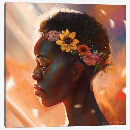 Crown Canvas Print #HDW4} by Hillary D Wilson Canvas Print
