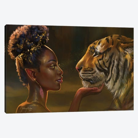 Bewitch Canvas Print #HDW7} by Hillary D Wilson Canvas Print