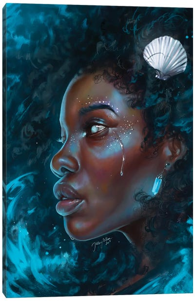 Sea Storm Canvas Art Print