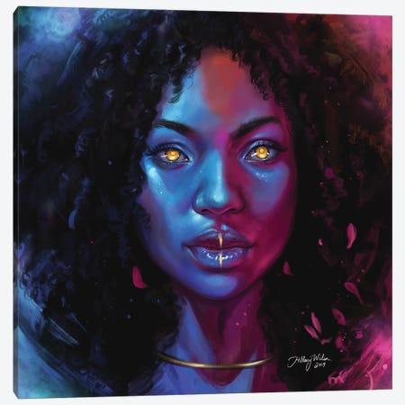 She Canvas Print #HDW9} by Hillary D Wilson Canvas Art