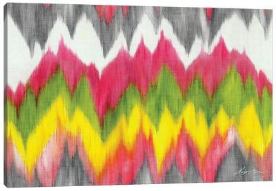 Vibrant Crests Canvas Art Print