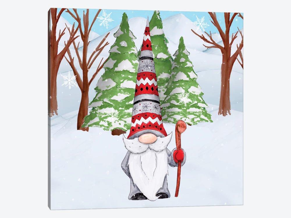 Fun Hat Gnoming Around I by Hugo Edwins 1-piece Canvas Print