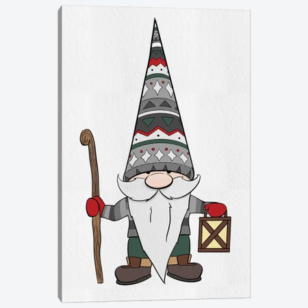 Nature Gnomes Canvas Print #HED19} by Hugo Edwins Canvas Art Print